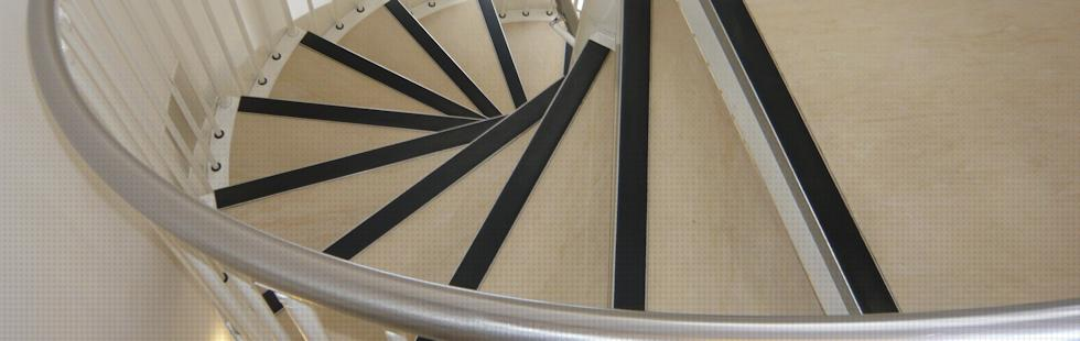 Powder coated mild steel Spiral Staircase complete with stringer and stainless steel handrail