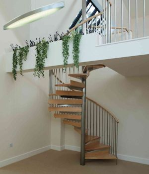 Domestic Spiral Staircase