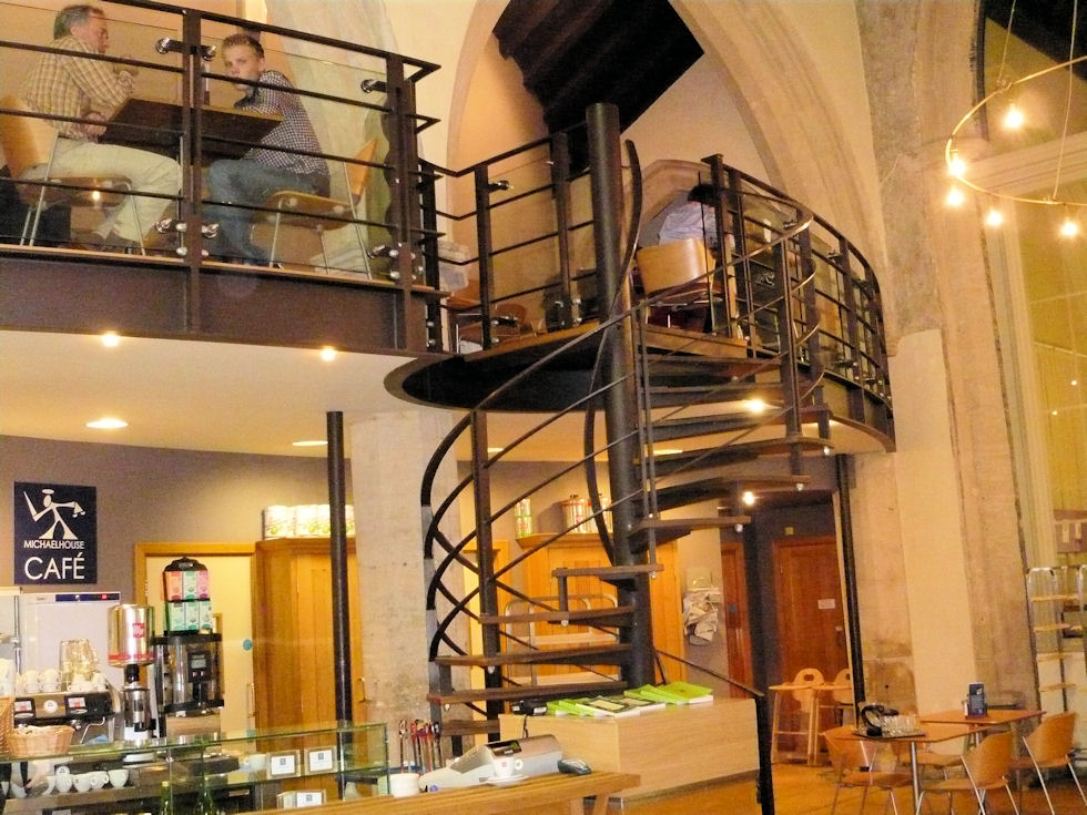 Commercial spiral staircases for Spiral staircase blueprint